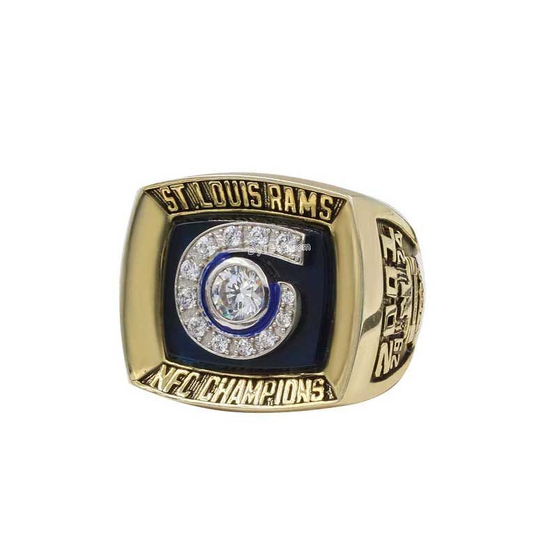 2001 Rams NFC Championship Ring