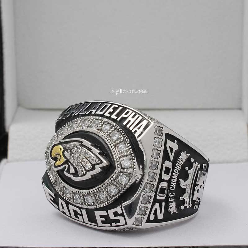 2004 nfc championship ring