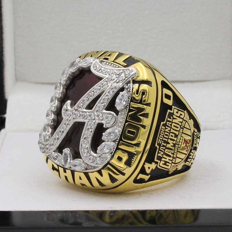 alabama 2009 Football National championship ring