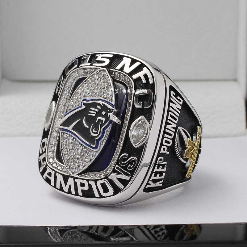 2015 Carolina Panthers Championship Ring
