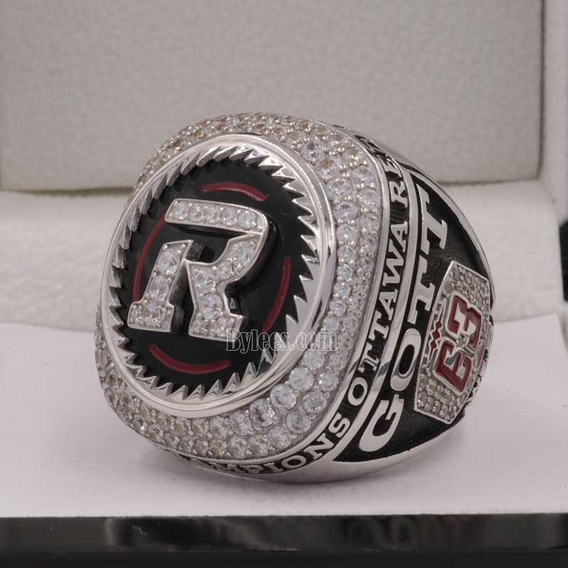 over view of grey cup ring 2016