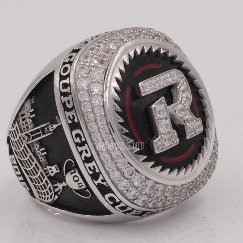 larger over view of grey cup ring 2016