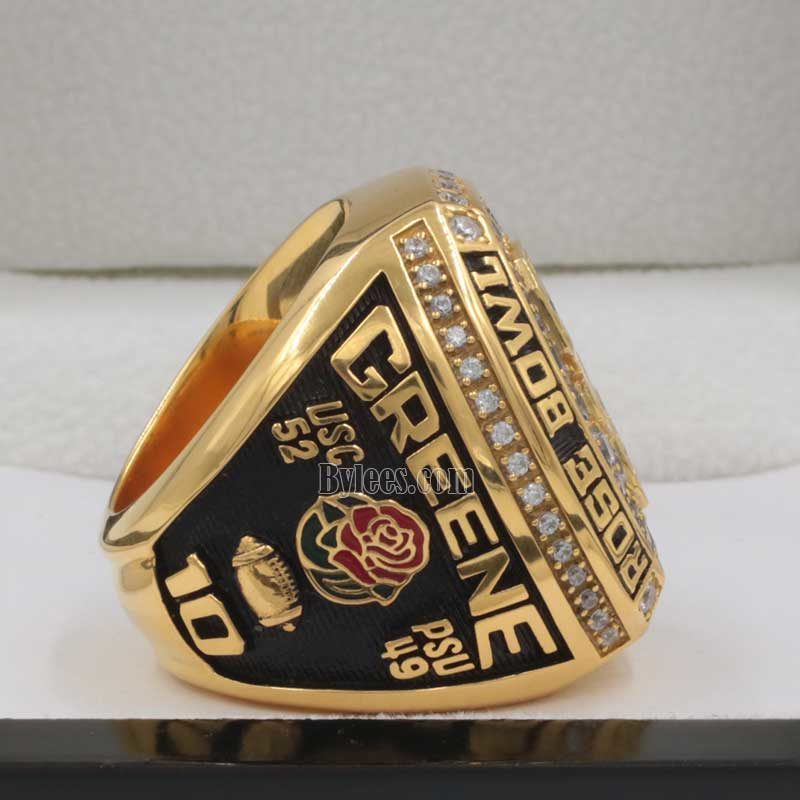 usc trojans championship rings (2017 rose bowl game)