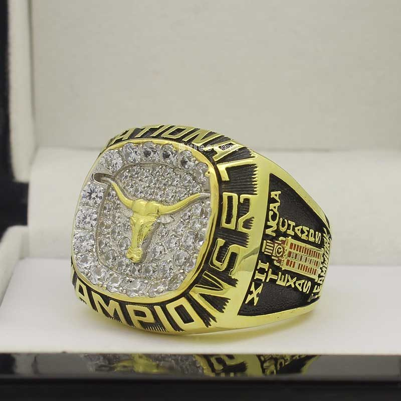 Texas 2002 baseball championship ring