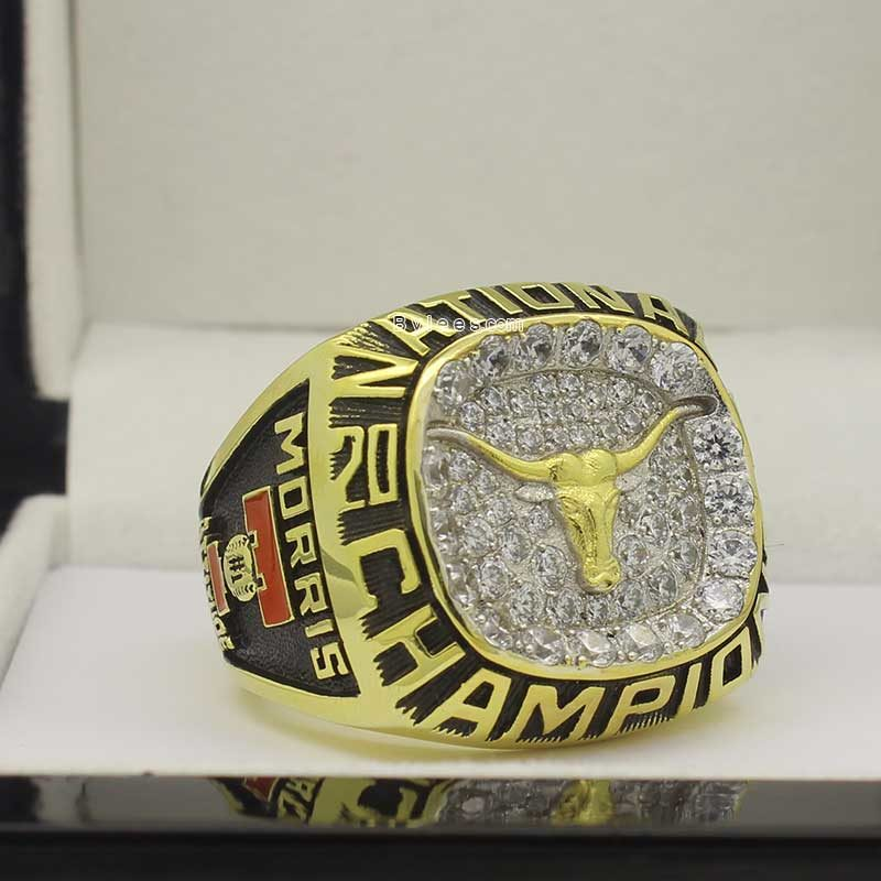 2002 Texas Longhorns baseball national championship ring
