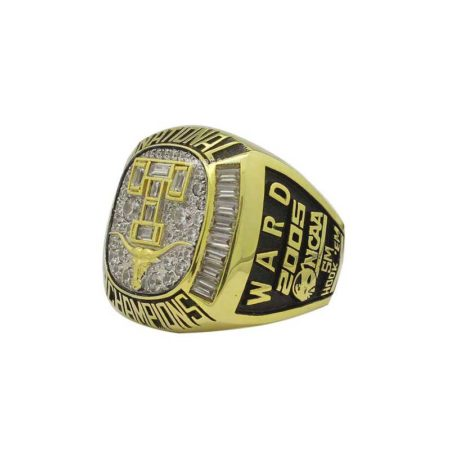 2005 Texas Longhorns baseball national championship ring (thumbnails)
