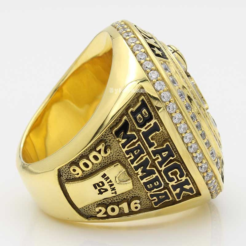 kobe retirement ring ( with bryant number 24)