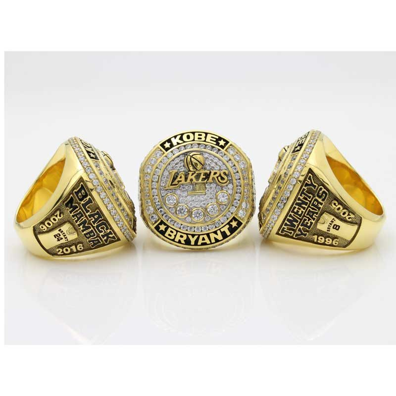 overview of kobe retirement ring