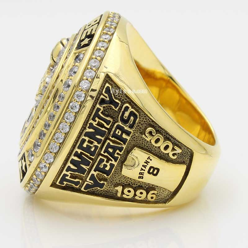kobe retirement ring (larger view on the left side)
