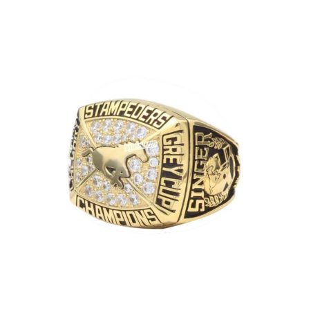 calgary stampeders grey cup ring 1992