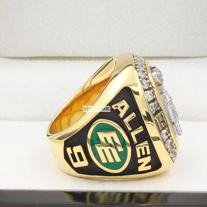 Right Side view of eskimos grey cup ring 1993