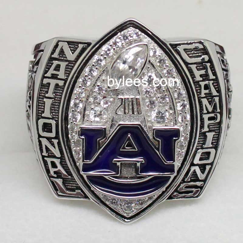 2010 auburn national championship ring