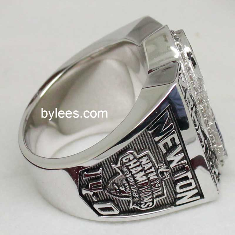 2010 Tiger Football championship ring