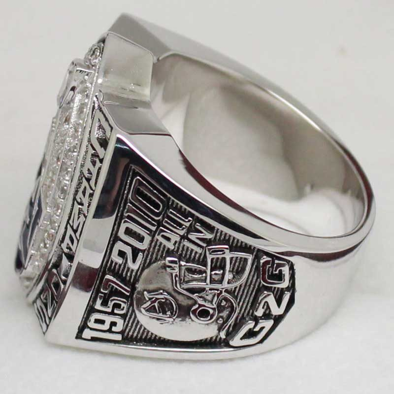 2010 UA national championship ring (left side view)