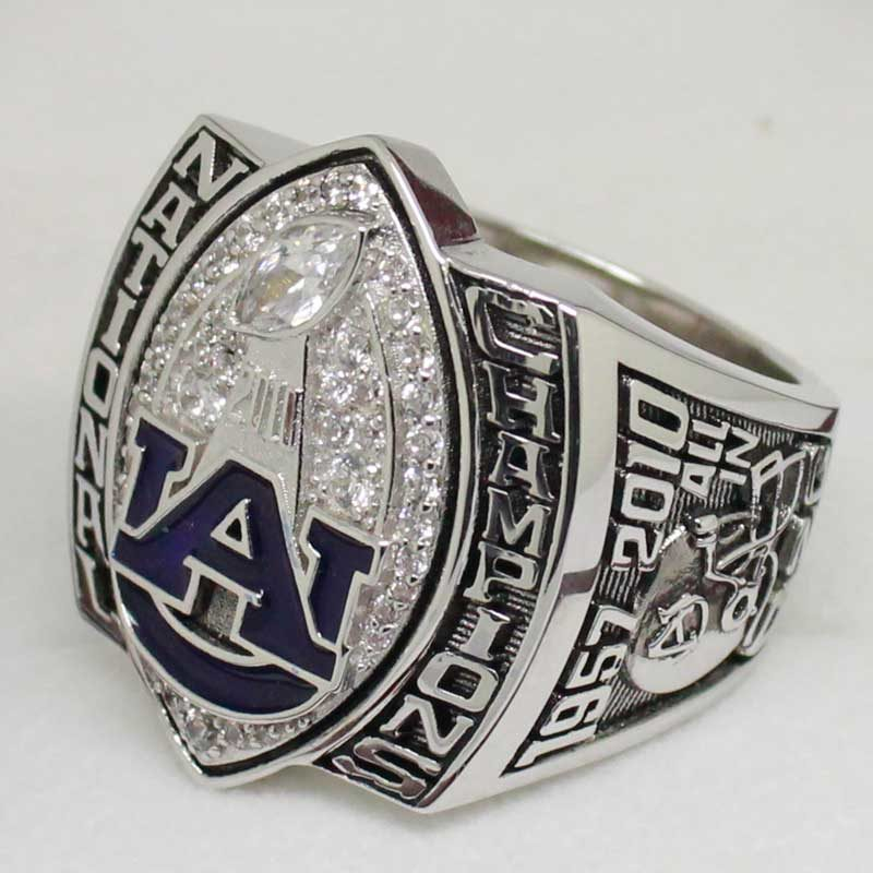 auburn 2010 football national championship ring