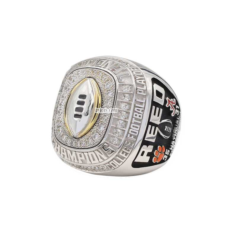 clemson new championship off shows look its rings national