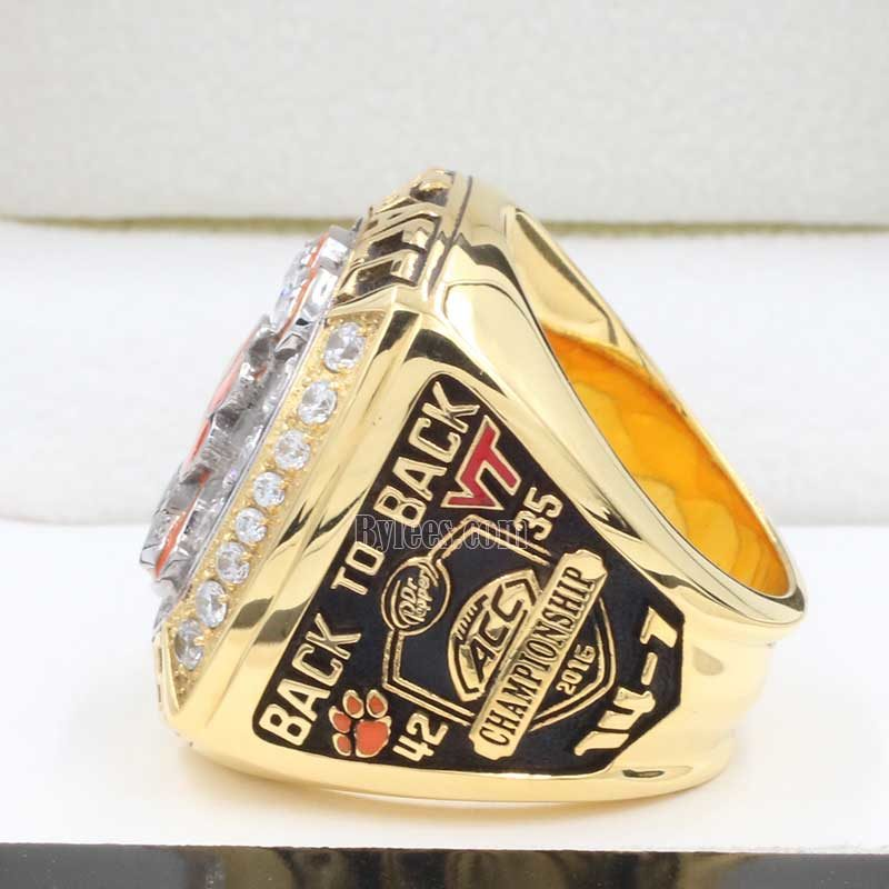 2016 ncaa football acc champoinship ring