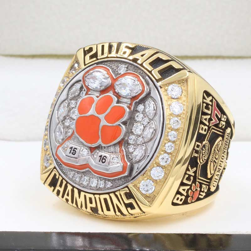 ACC Championship Best – 2016  Clemson Ring Tigers