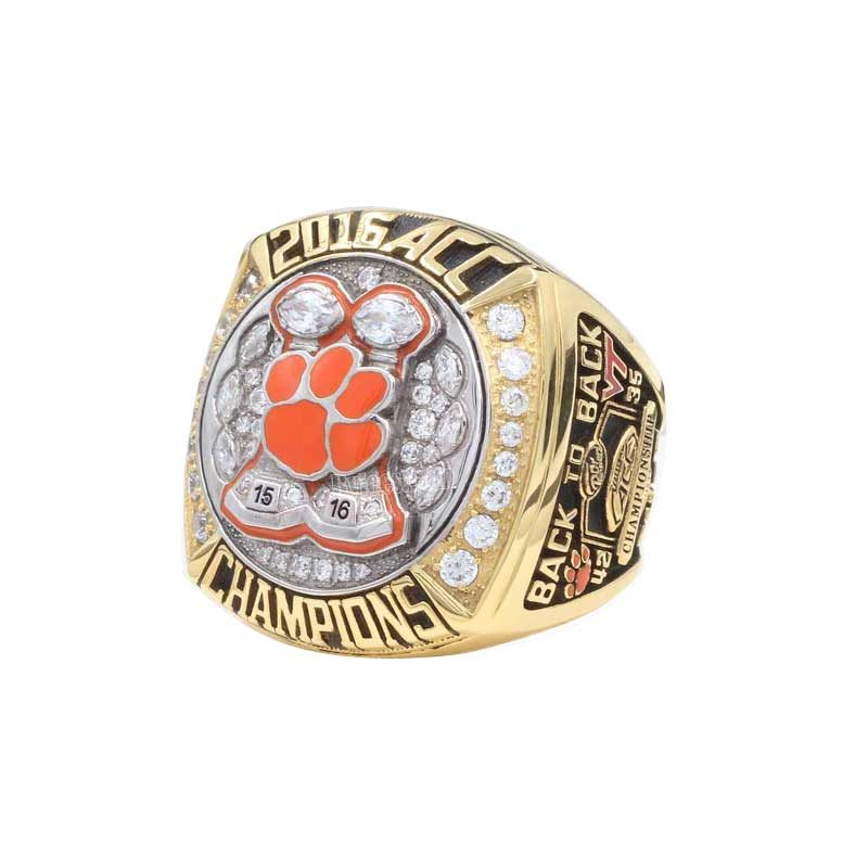 s tigers men acc national football rings champions clemson championship ring custom