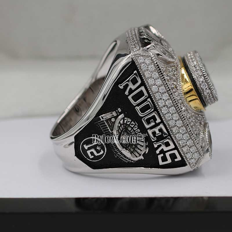 aaron rodgers championship ring