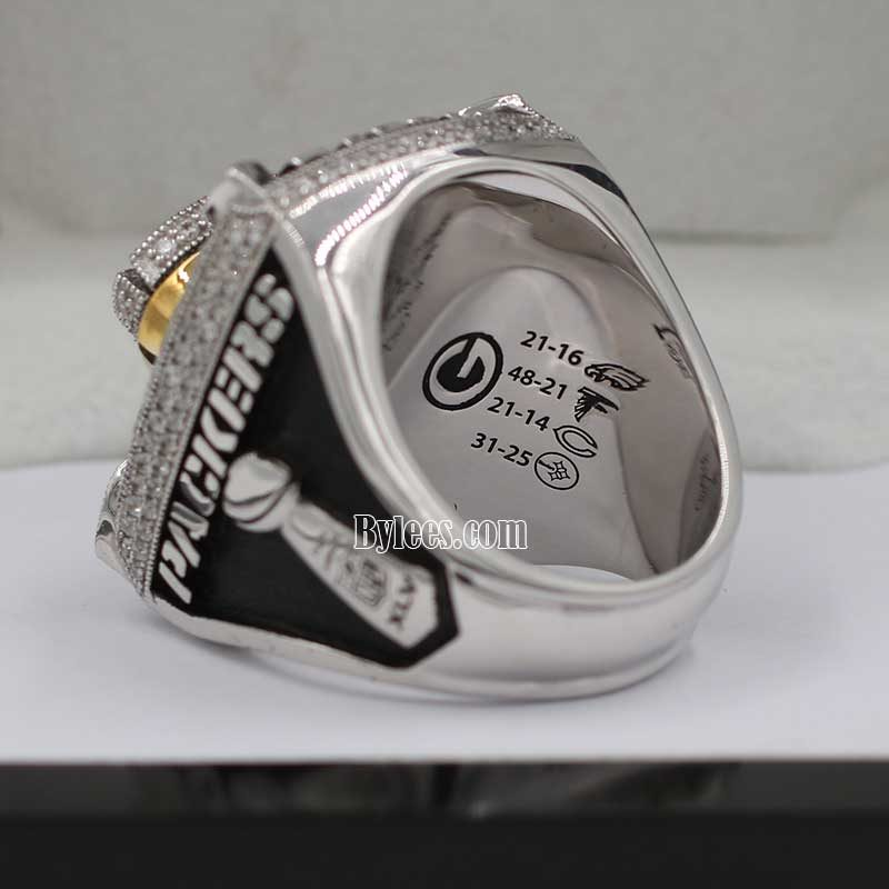 Green bay packers championship ring 2010