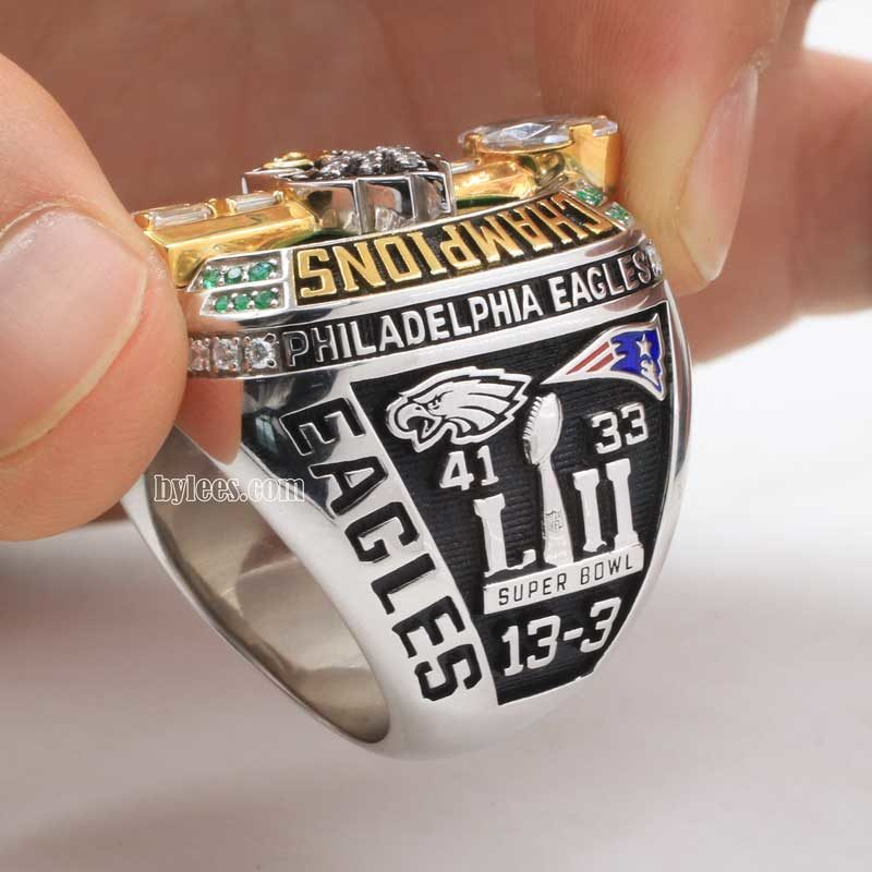 2017 super bowl LII fan championship ring