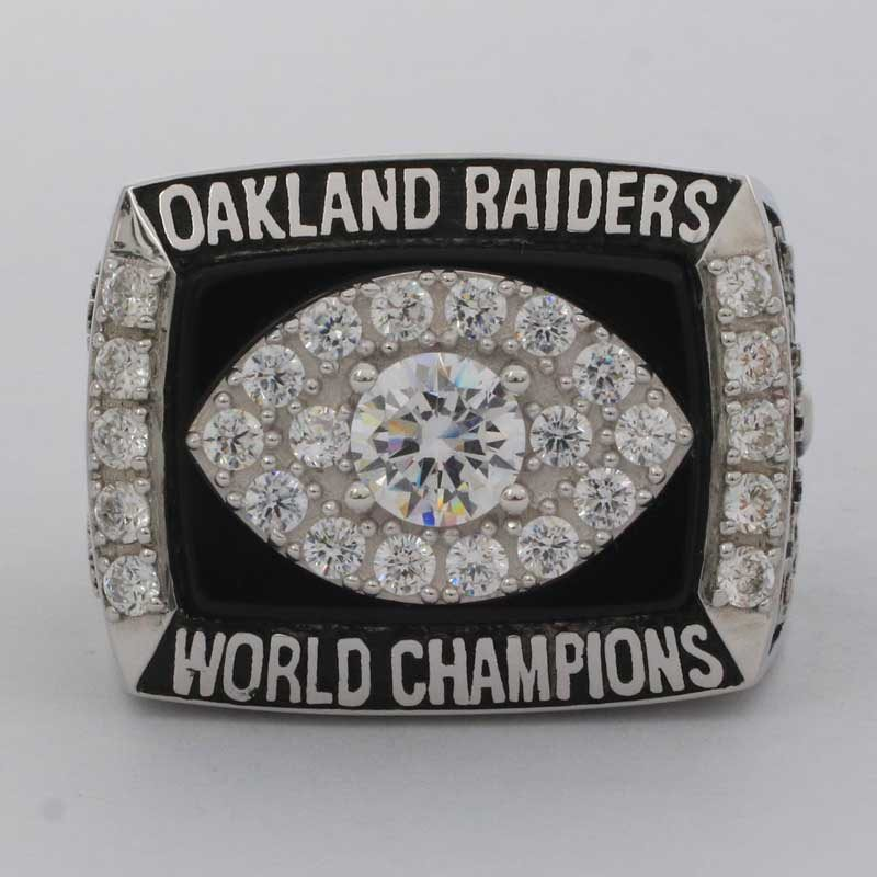 Oakland Raiders 1976 super bowl XI championship ring