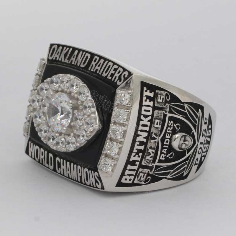 Raiders Super Bowl XI ring