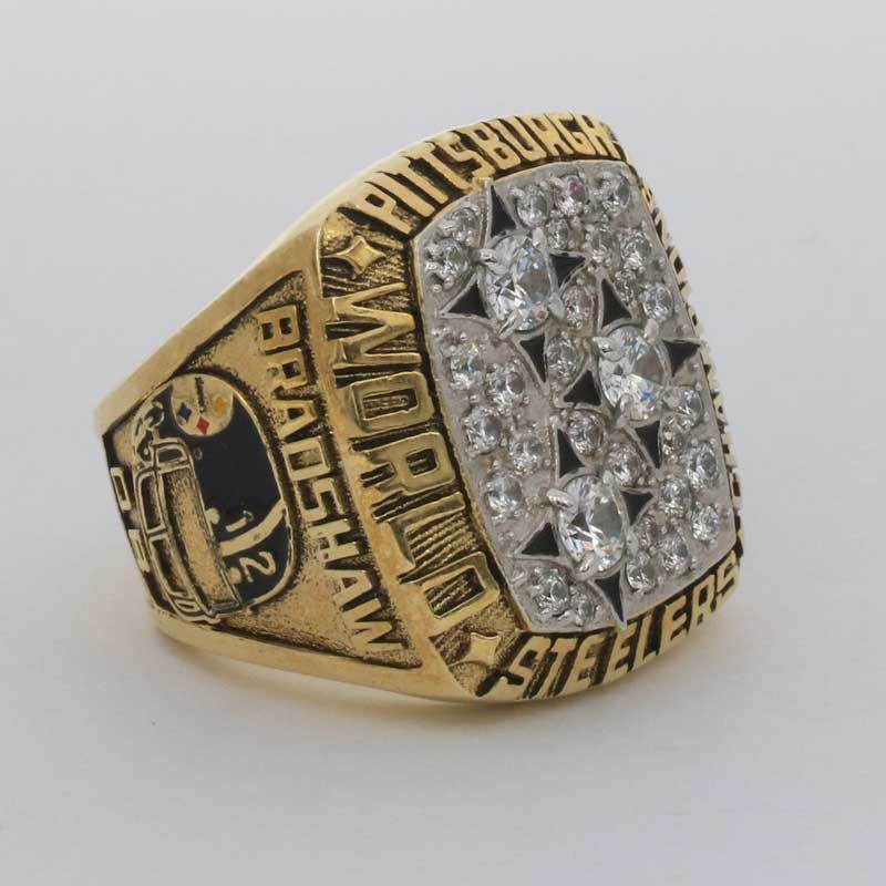 1978 Super Bowl XIII Pittsburgh Steelers Championship Ring