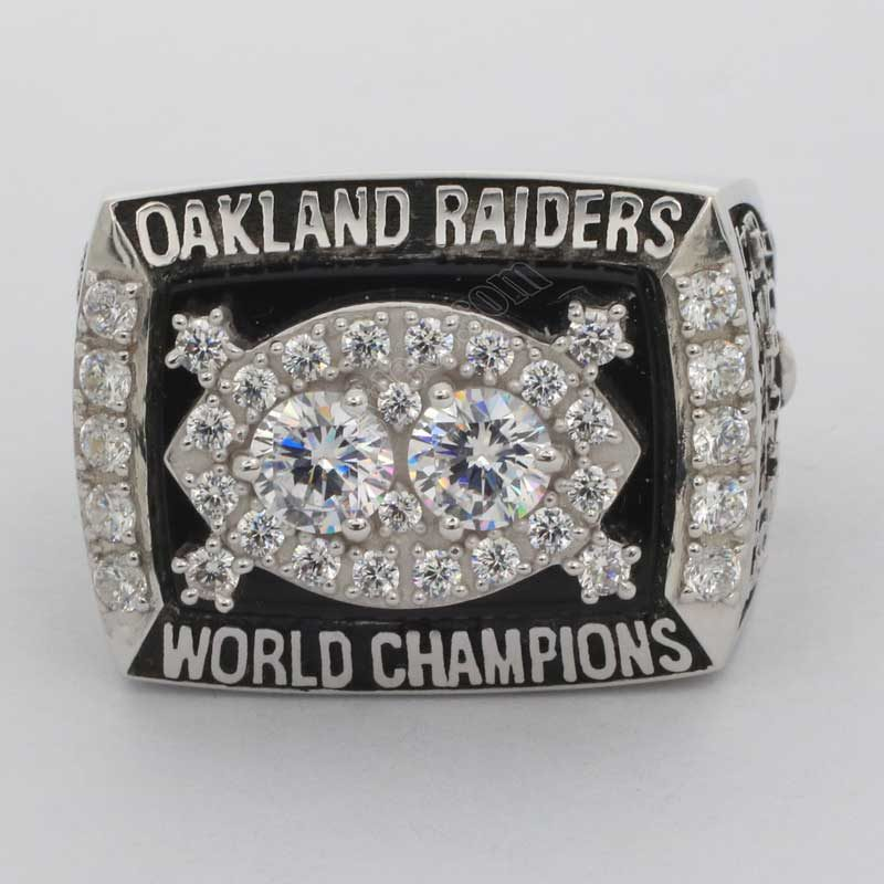1980 Super Bowl XV Oakland Raiders Championship Ring