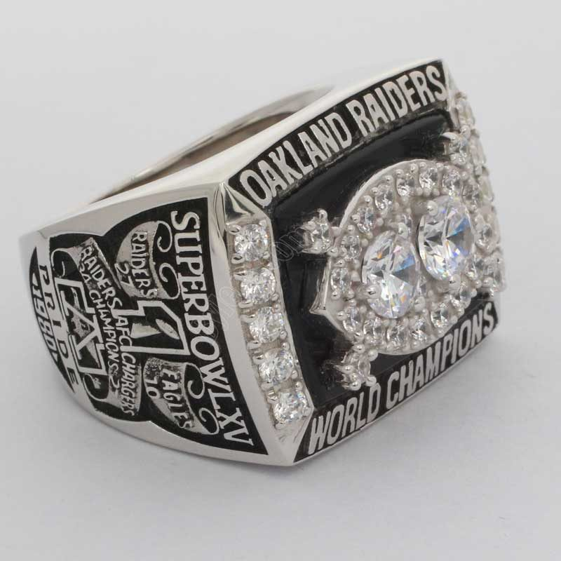 1980 NFL Super Bowl Super Bowl XV Oakland Raiders Championship Ring