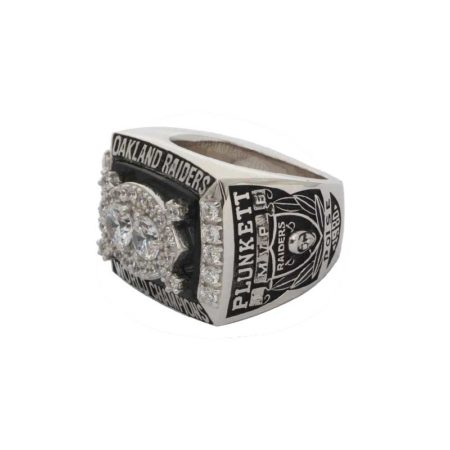 1980 super bowl XV ring