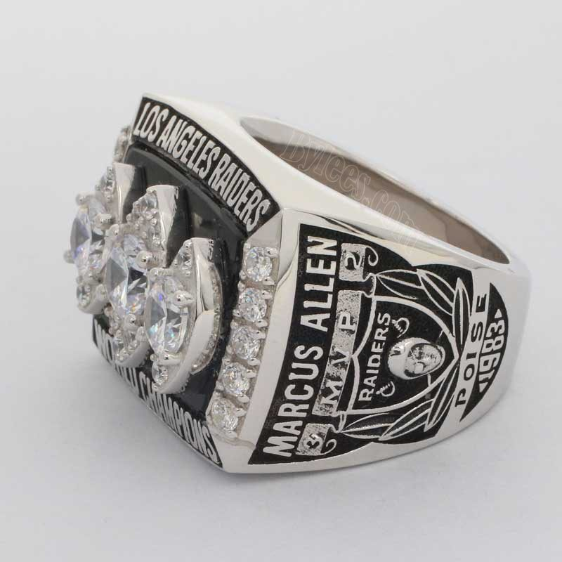 Raiders 1983 Super Bowl XVIII ring