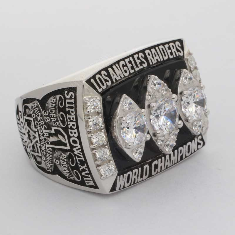 1983 Super Bowl XVIII Raiders championship ring