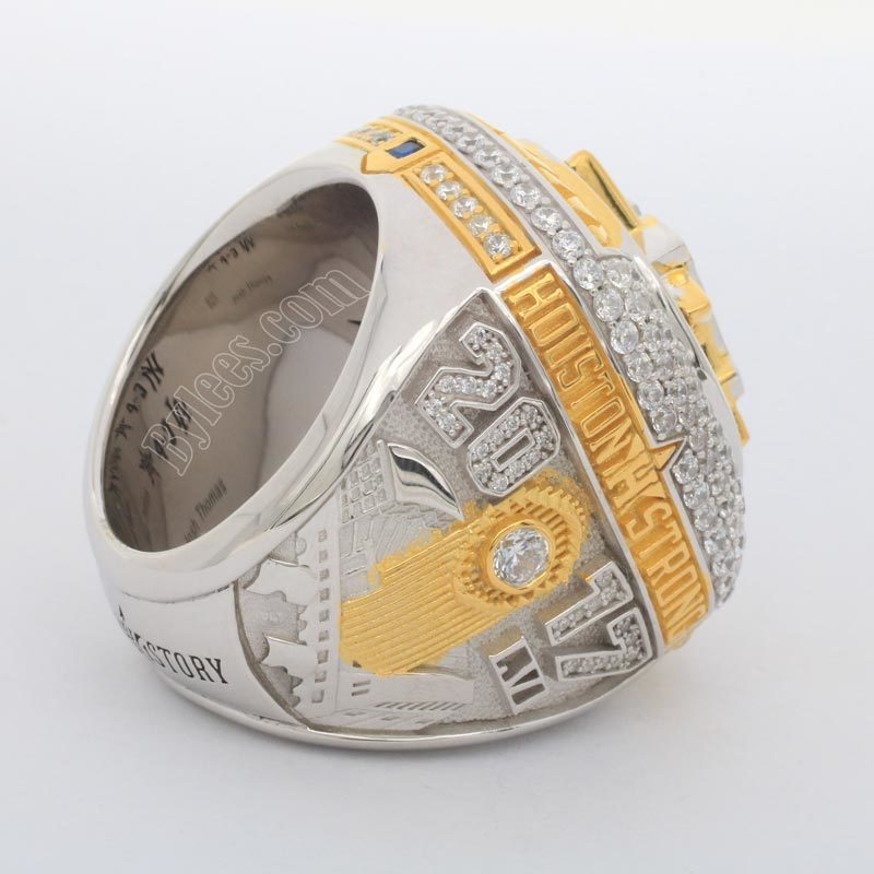 Houston Astros 2017 world series ring