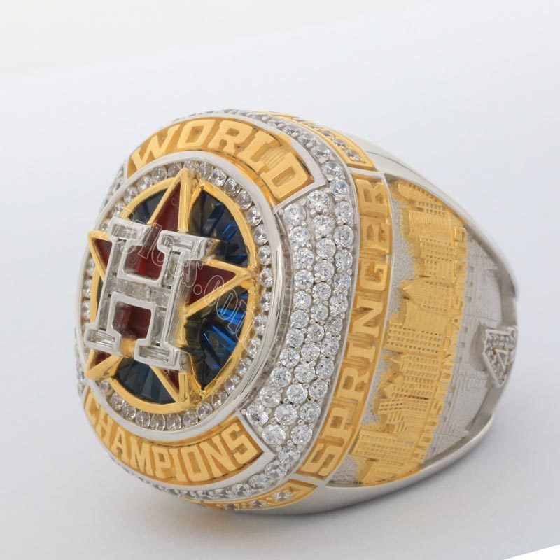 Springer Houston Astros world series ring 2017
