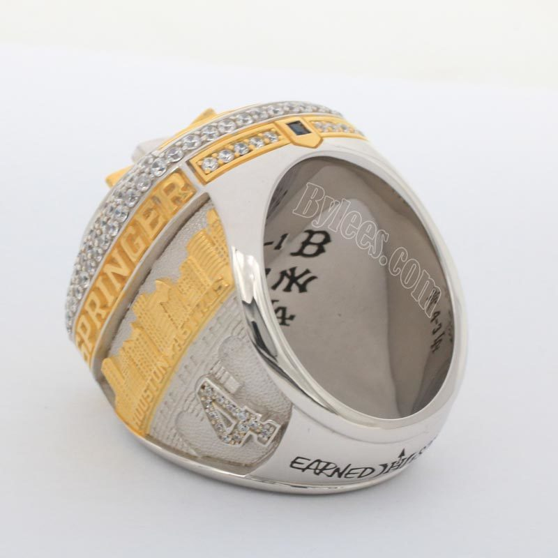 Houston Astros World Series Championship Ring 2017