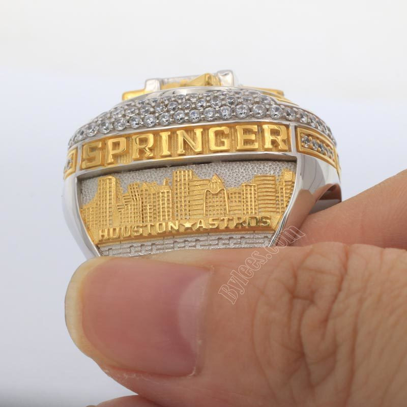 2017 Astros World Series ring