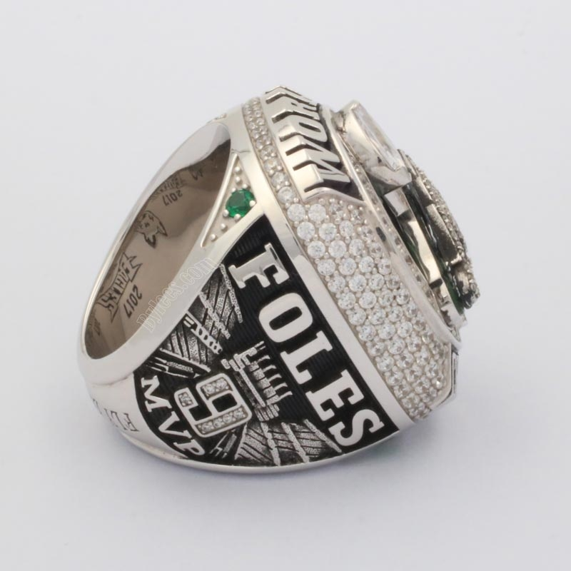 Nick Foles Eagles Super Bowl LII ring
