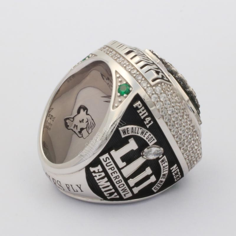 2017 NFL Eagles Super bowl LII Championship ring
