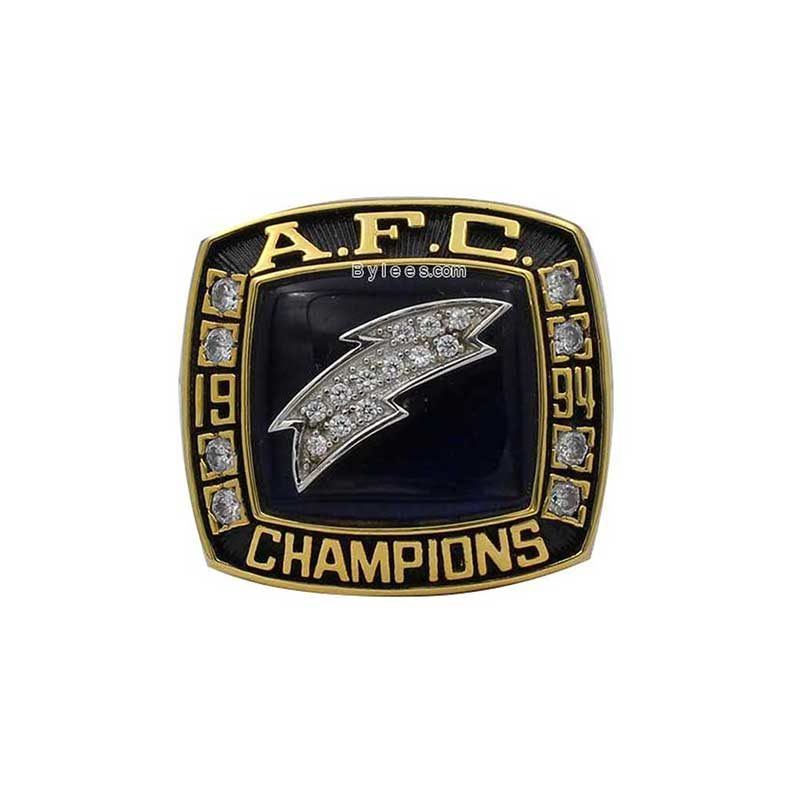 1994 San Diego Chargers AFC Championship Ring