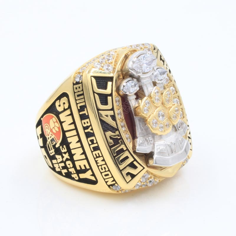2017 Clemson Tigers Football Championship ring
