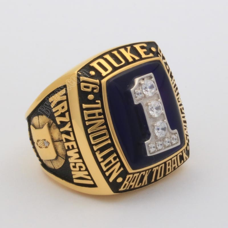 Duke 1992 basketball national championship ring