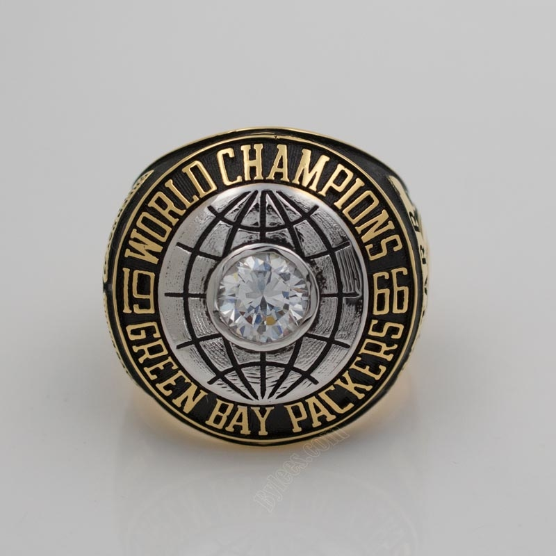 Green bay packers super bowl I championship ring