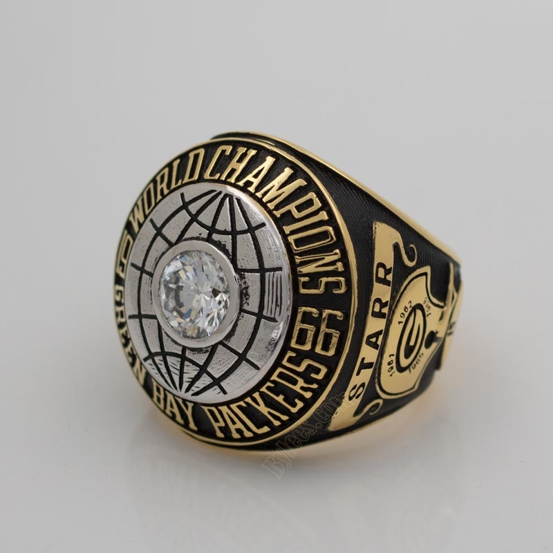 Bart Starr 1966 super bowl I ring