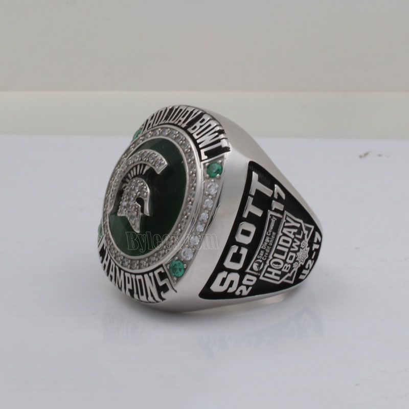 2017 holiday bowl championship ring