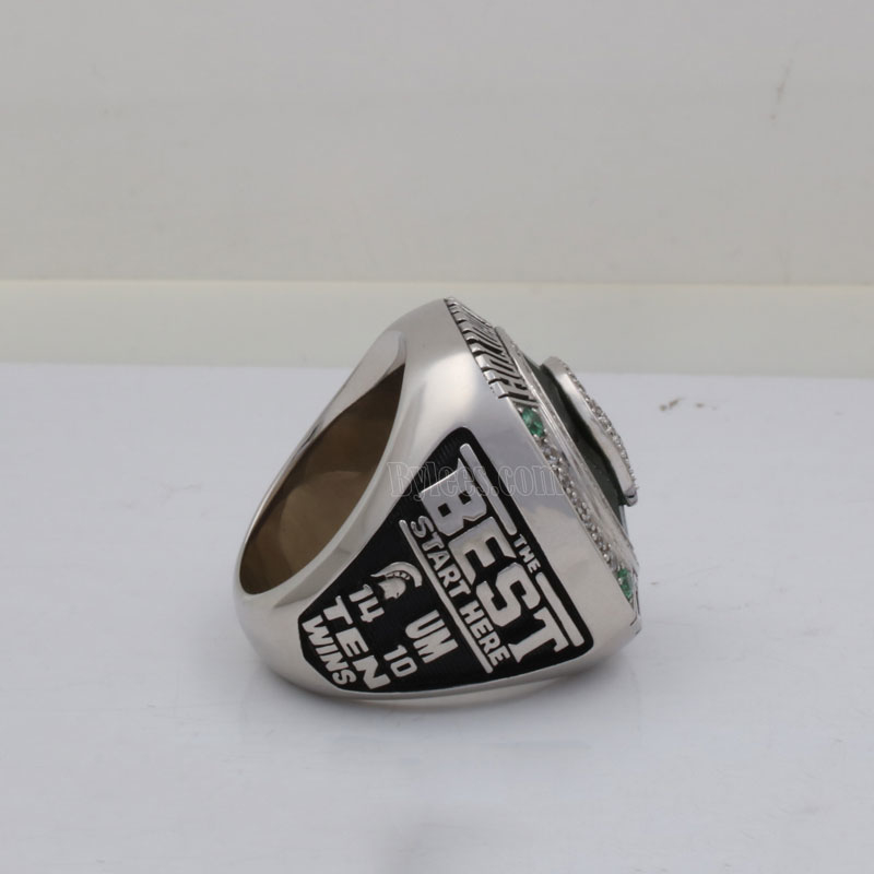 2017 Michigan State Spartans Holiday Bowl Championship Ring