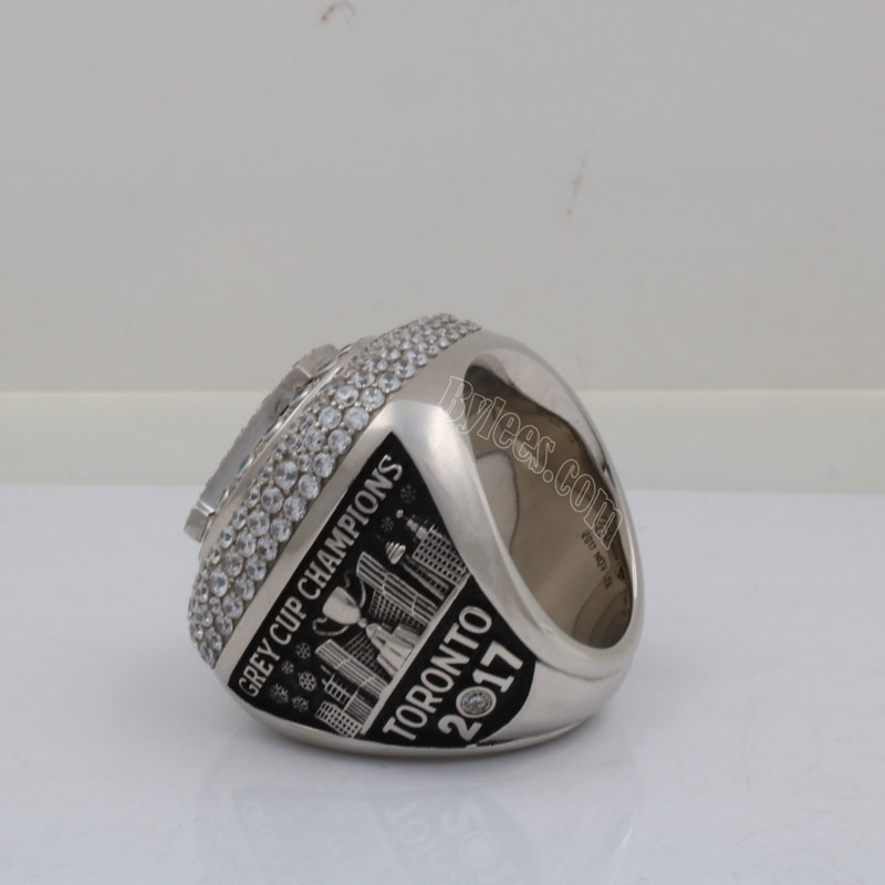 2017 CFL finals championship ring