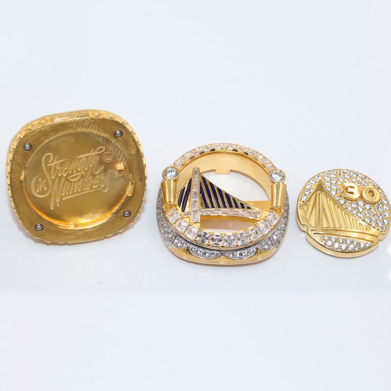 2018 Golden State Warriors NBA chamionship ring