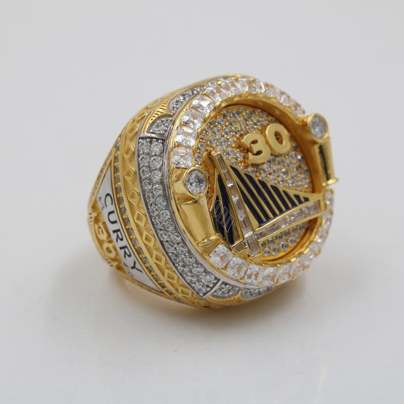 Stephen Curry 2018 NBA championship ring